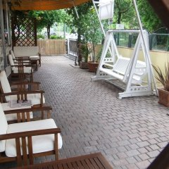 Отель Albergo Villalma Римини бассейн