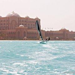 Emirates Palace Hotel Абу-Даби приотельная территория