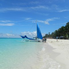 Отель Blue Coral Resort Boracay пляж