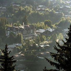 Отель Park Gstaad Швейцария, Гштад - отзывы, цены и фото номеров - забронировать отель Park Gstaad онлайн приотельная территория