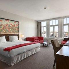 Отель Nh Amsterdam Schiller Амстердам комната для гостей фото 5