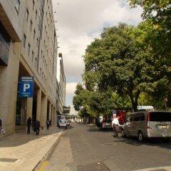 Отель Marquês de Pombal Лиссабон парковка