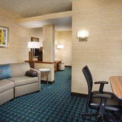 Отель Fairfield Inn & Suites by Marriott Columbus OSU США, Колумбус - отзывы, цены и фото номеров - забронировать отель Fairfield Inn & Suites by Marriott Columbus OSU онлайн комната для гостей фото 4