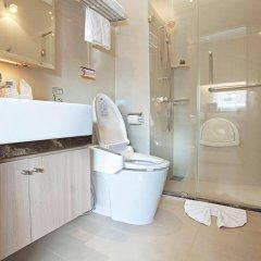 Отель V Residence Bangkok Таиланд, Бангкок - отзывы, цены и фото номеров - забронировать отель V Residence Bangkok онлайн ванная