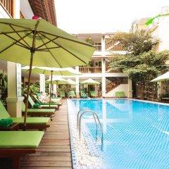 Отель Green Heaven Hoi An Resort & Spa Хойан бассейн