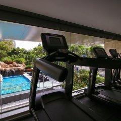 Отель Amari Residences Pattaya фитнесс-зал фото 4