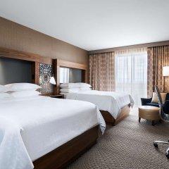 Отель Sheraton Toronto Airport Hotel & Conference Centre Канада, Торонто - отзывы, цены и фото номеров - забронировать отель Sheraton Toronto Airport Hotel & Conference Centre онлайн комната для гостей фото 2