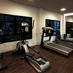 Отель Praso Ratchada Таиланд, Бангкок - отзывы, цены и фото номеров - забронировать отель Praso Ratchada онлайн фитнесс-зал