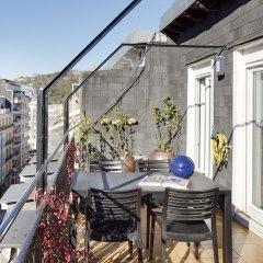 Отель La Terraza Apartment by FeelFree Rentals Испания, Сан-Себастьян - отзывы, цены и фото номеров - забронировать отель La Terraza Apartment by FeelFree Rentals онлайн балкон