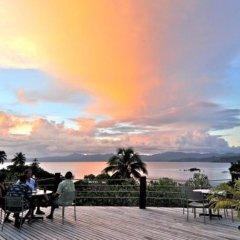 Отель Savusavu Hot Springs Hotel Фиджи, Савусаву - отзывы, цены и фото номеров - забронировать отель Savusavu Hot Springs Hotel онлайн пляж фото 2