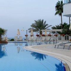Отель Sunrise Beach Hotel Кипр, Протарас - 5 отзывов об отеле, цены и фото номеров - забронировать отель Sunrise Beach Hotel онлайн бассейн фото 2