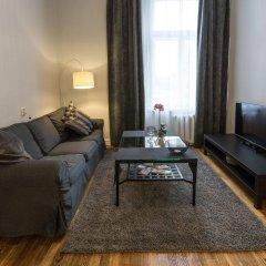 Отель Bearsleys Downtown Apartments Латвия, Рига - отзывы, цены и фото номеров - забронировать отель Bearsleys Downtown Apartments онлайн комната для гостей фото 2