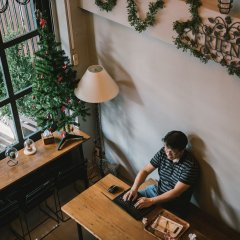 Guyasuka Hostel&Cafe интерьер отеля фото 3