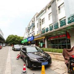 GreenTree Alliance JiangSu SuZhou Xihuan Road Sports Center Hotel парковка