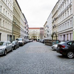 Апартаменты PrenzlBed Apartments парковка