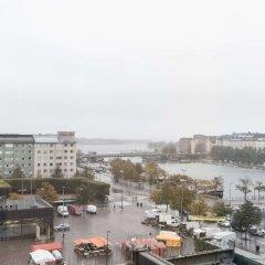 Отель Cumulus Hakaniemi балкон