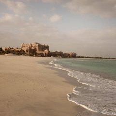 Отель Emirates Palace Abu Dhabi пляж