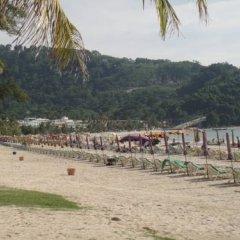 Отель Sutra Beachfront Boutique пляж