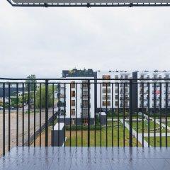 Отель P&O Apartments Wagonowa Польша, Варшава - отзывы, цены и фото номеров - забронировать отель P&O Apartments Wagonowa онлайн балкон