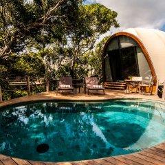 Отель Wild Coast Tented Lodge - All Inclusive Шри-Ланка, Тиссамахарама - отзывы, цены и фото номеров - забронировать отель Wild Coast Tented Lodge - All Inclusive онлайн бассейн