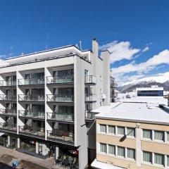 Отель Piz Швейцария, Санкт-Мориц - отзывы, цены и фото номеров - забронировать отель Piz онлайн балкон