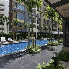 Отель Roomme Hospitality Nang Linchee Branch Бангкок бассейн