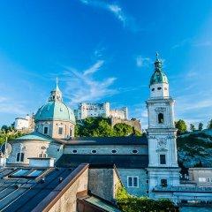 Отель am Dom Австрия, Зальцбург - отзывы, цены и фото номеров - забронировать отель am Dom онлайн балкон