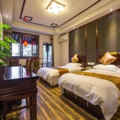 Отель Liu Hua Xi Tang Hotel Китай, Сиань - отзывы, цены и фото номеров - забронировать отель Liu Hua Xi Tang Hotel онлайн комната для гостей фото 5