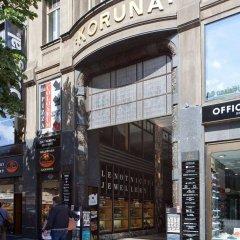 Hostel Ananas Прага городской автобус