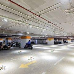 Апартаменты Léman Luxury Apartments парковка