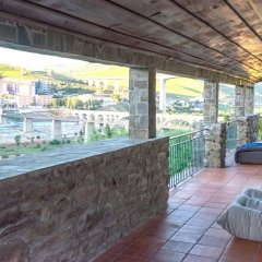 Отель Villa With 3 Bedrooms in Lamego, With Wonderful Mountain View, Private балкон