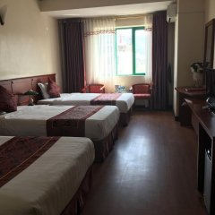 Отель Blue Sky Halong Hotel Вьетнам, Халонг - отзывы, цены и фото номеров - забронировать отель Blue Sky Halong Hotel онлайн комната для гостей фото 3