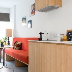 Отель Kith & Kin Boutique Apartments Нидерланды, Амстердам - отзывы, цены и фото номеров - забронировать отель Kith & Kin Boutique Apartments онлайн комната для гостей фото 5