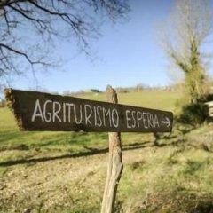 Отель Agriturismo Esperia Кьянчиано Терме приотельная территория фото 2
