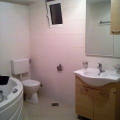 Отель Margo apartment Черногория, Будва - отзывы, цены и фото номеров - забронировать отель Margo apartment онлайн ванная