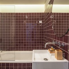 Отель Almaria Edificio Da Corte Лиссабон ванная