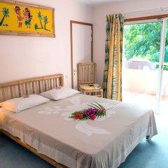Отель Hibiscus Французская Полинезия, Муреа - отзывы, цены и фото номеров - забронировать отель Hibiscus онлайн комната для гостей фото 4