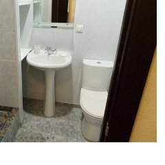 Гостиница Полярис ванная фото 7