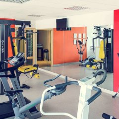 Отель Mercure Poznań Centrum Польша, Познань - 2 отзыва об отеле, цены и фото номеров - забронировать отель Mercure Poznań Centrum онлайн фитнесс-зал фото 4