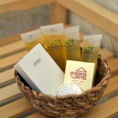 Отель Acropol Hotel Греция, Халандри - отзывы, цены и фото номеров - забронировать отель Acropol Hotel онлайн ванная фото 2