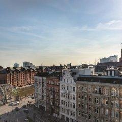 Отель Adina Apartment Hotel Hamburg Speicherstadt Германия, Гамбург - 1 отзыв об отеле, цены и фото номеров - забронировать отель Adina Apartment Hotel Hamburg Speicherstadt онлайн балкон