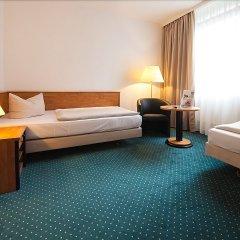 Отель NOVINA HOTEL Südwestpark Nürnberg Германия, Нюрнберг - 1 отзыв об отеле, цены и фото номеров - забронировать отель NOVINA HOTEL Südwestpark Nürnberg онлайн комната для гостей фото 5