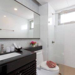 Апартаменты G1 Serviced Apartment Kamala Beach ванная фото 2
