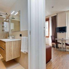 Отель Duomo - Apartments Milano Италия, Милан - 2 отзыва об отеле, цены и фото номеров - забронировать отель Duomo - Apartments Milano онлайн ванная фото 2