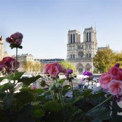 Отель Rives De Notre Dame Париж приотельная территория