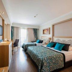 Отель Crystal Waterworld Resort And Spa Богазкент комната для гостей