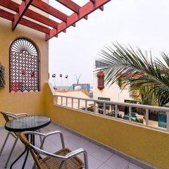Отель OYO 168 Al Raha Hotel Apartments ОАЭ, Шарджа - отзывы, цены и фото номеров - забронировать отель OYO 168 Al Raha Hotel Apartments онлайн балкон