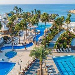 Отель Adams Beach Айя-Напа бассейн фото 2