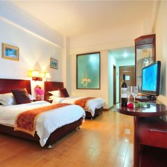 Sanya Xinhai Sunshine Hotel комната для гостей фото 3