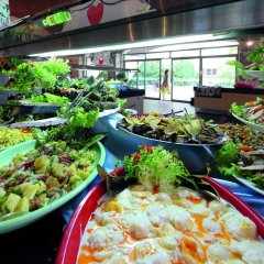 Marmaris Resort & Spa Hotel Турция, Кумлюбюк - отзывы, цены и фото номеров - забронировать отель Marmaris Resort & Spa Hotel онлайн питание фото 3
